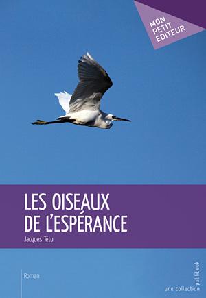 Photo d'une aigrette sur le livre les Oiseaux de l'espérance