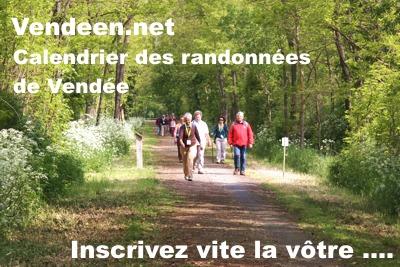 Inscrivez vos dates de randonnée en Vendée ici