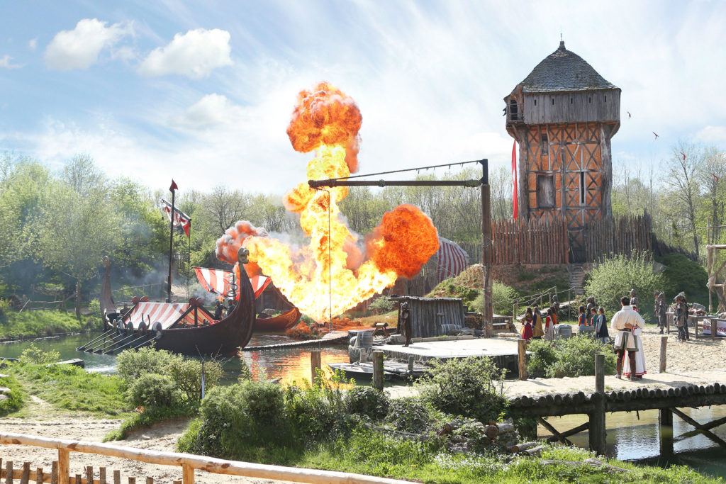 Les Vickings au Puy du Fou