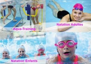 Apprendre à nager en Vendée et cours de natation enfants et adultes
