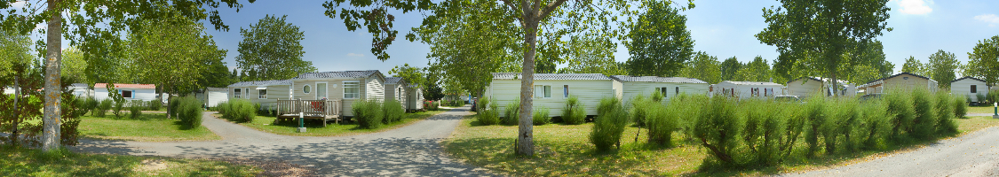 Parc arboré du camping du jard en Vendée