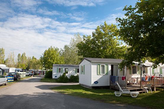 location de mobil home au camping du jard