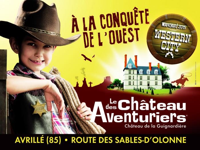 Parc d'aventures du chateau des aventuriers à avrillé en Vendée