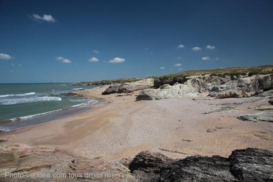 Crique et dunes de Brétignolles sur Mer