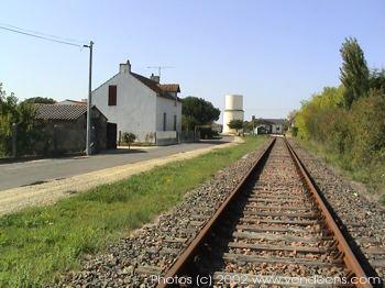 Vélo rail la Gare