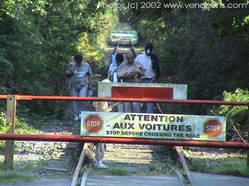 Barrière Vélo rail