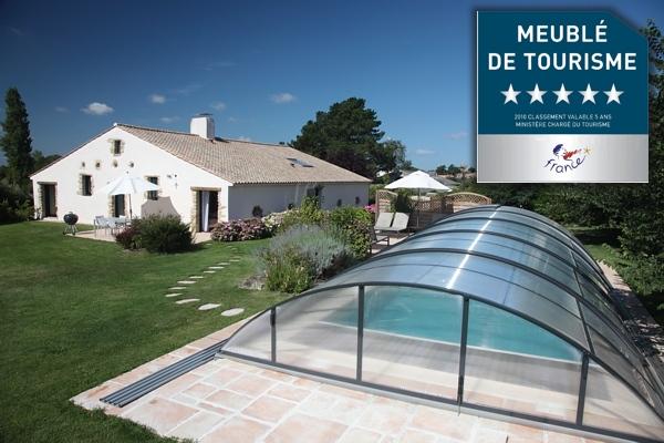 Gites tres haut de gamme du Domaine de Mauny en Vendée
