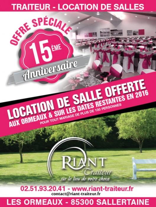 Location de salle offerte en Vendée