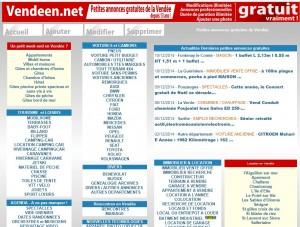 Service de petites annonces gratuites de la Vendée