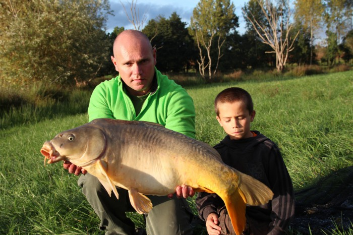 Camping avec pêche en Vendée avec de belles carpes