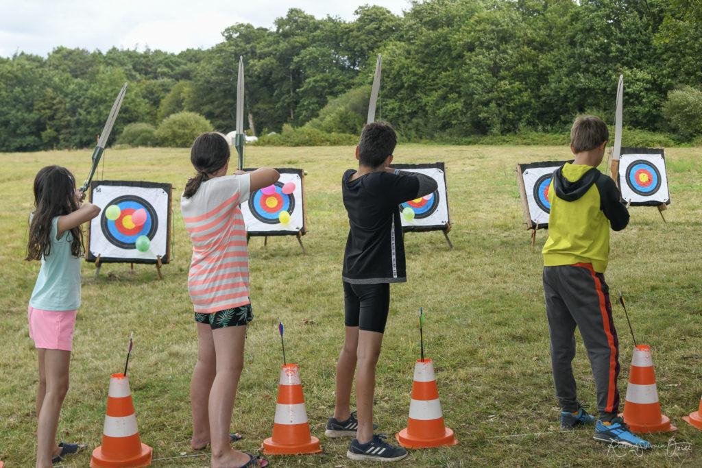 Activités sur place pour les enfants au camping yelloh village château la forêt