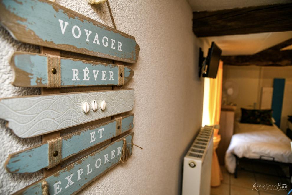 Décoration des chambres d'hôtes