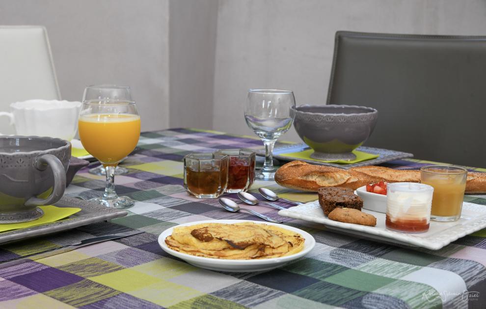 Petit déjeuner fait maison